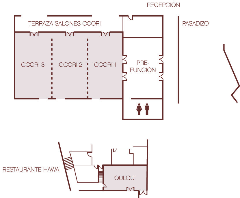 Floor plan Ccori Conference Room